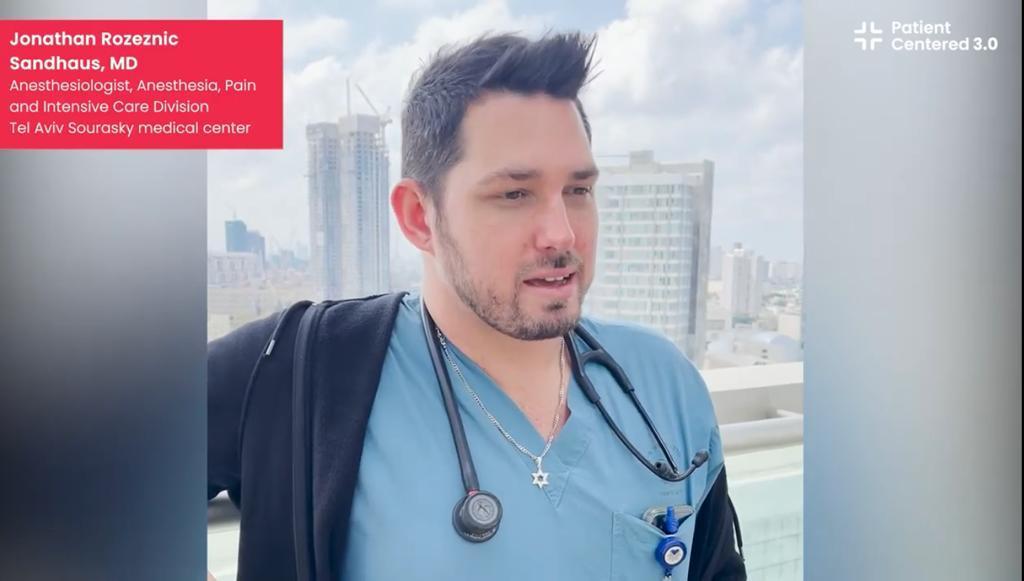 Tel Aviv Sourasky medical center: Dr. Jonathan Rozeznic Sandhaus, Tel Aviv, Israel (Español)