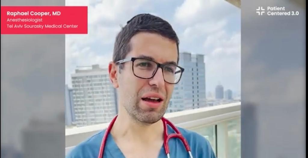Tel Aviv Sourasky medical center: Dr. Raphael Cooper, Tel Aviv, Israel